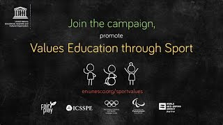 Download Values Education through Sport Video