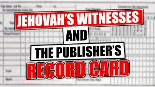 Download Jehovah's Witness Publisher Record Card Video