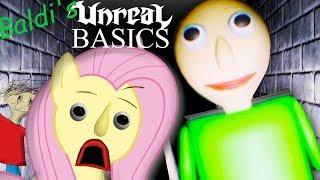 Download Fluttershy plays Baldi's UNREAL Basics 🍉 | REMASTERED BALDI MAKES ME HD SAD Video