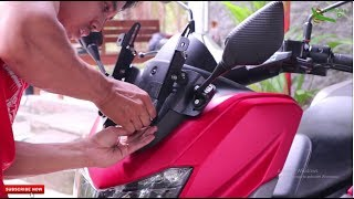 Download [TUTORIAL] : Cara Pasang Braket Serpo / Spion R25 dan Well Nut anti jebol Yamaha NMax Video