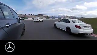 Download 360° race video of the Mercedes-AMG E 63 S 4MATIC+ – Mercedes-Benz original. Video