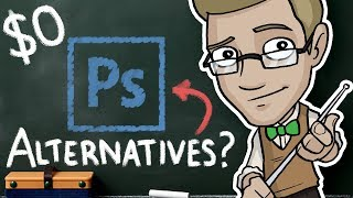 Download CHEAP and FREE Photoshop Alternatives - $0 Art Programs Review! Video