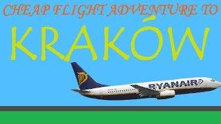 Download Cheap flight adventure to Krakow (Poland) Video