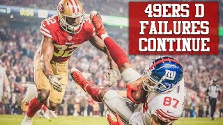 Download Live! 49ers Defense Exposed By Giants, Richard Sherman Criticizes Secondary Video