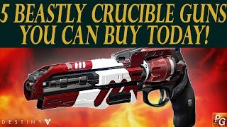 Download Destiny: 5 Crucible Beasts You Can Buy This Week! Don't Pass On These Weapons! Video