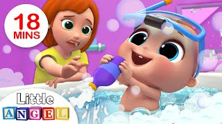 Download Baby Bath Time | Bath Song | Kids Songs and Nursery Rhymes by Little Angel Video