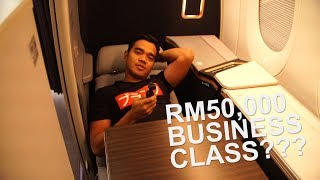 Download Malaysia Airlines AWESOME Business Suite! - Alif Satar & The Locos UK Tour Episode #1 Video