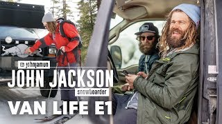 Download Inside the Van Life of Pro Snowboarder John Jackson. | Van Life Episode 1 Video