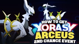 Download HOW TO GET ARCEUS! 2ND CHANCE! Mythical Pokemon Event! Pokemon XY Omega Ruby Alpha Sapphire Tutorial Video