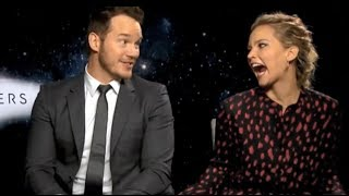 Download Jennifer Lawrence Can't Hide Her Affection For Chris Pratt Video