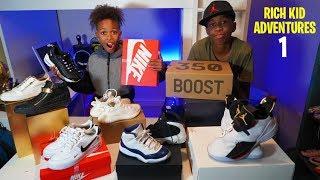 Download Rich Kid Adventures   Sneaker Collection vs Romello Video