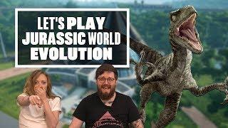 Download Let's Play Jurassic World Evolution - KATE BECKINSALE NOOO Video