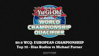 Download 2018 WCQ: European Championship - Berlin - Top 32 - Ilias Rodios vs Michael Forner Video