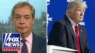 Download Nigel Farage: Reaction to Trump in Davos was stunning Video