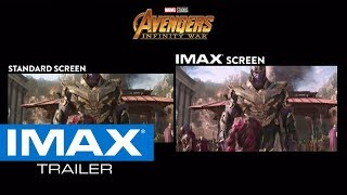 Download Avengers: Infinity War IMAX® Screen vs. Standard Screen Video