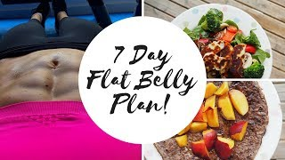 Download 7 DAY FLAT BELLY HEALTHY EATING MEAL PLAN! Video
