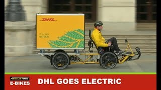 Download DHL joins UPS and FedEx in going electric with e-Bikes, e-Trikes and e-Quads. Video