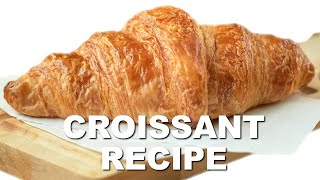 Download How to Make Classic French Croissants Video