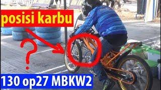 Download Eko kodok naik jupiter 130 rangka ninja op27 karya mekanik roadrace Mletis mbkw2 Video
