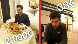 Download Nuit d'hôtel à 2000€ VS Nuit d'hôtel à 38€ Video
