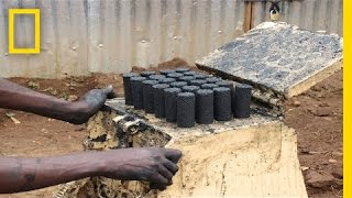Download Sanga Moses: Using Waste to Fuel Africa | Nat Geo Live Video