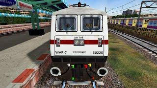 Download Mumbai Central - Ahmedabad Shatabdi Express || MSTS Open Rails || Indian Train Simulator Video