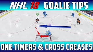 Download NHL 18 GOALIE TIPS - SAVING ONE TIMERS & CROSS CREASES - EASHL & ARCADE 3s Video