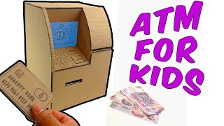 Download How to make an ATM from Cardboard for Kids Video