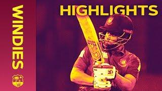 Download Tamim & Shakib Put On Record Stand - Windies v Bangladesh 1st ODI 2018   Extended Highlights Video
