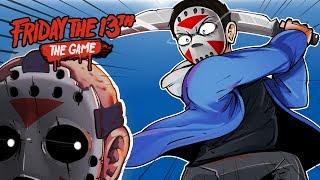Download Friday The 13th - I'M OP! SAVING CARTOONZ! (KILLING JASON VOORHEES!) Video
