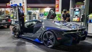 Download $2.5 Million Lamborghini Centenario TROLLS 200 MPH Jag Video