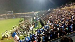 Download Sambutan panser biru buat BCS sleman Video