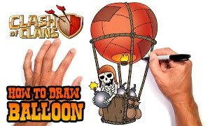 Download How to Draw Balloon | Clash of Clans Video