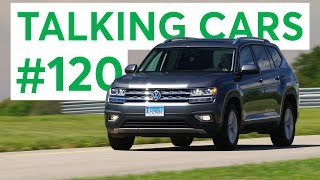 Download The 2018 Volkswagen Atlas, Tiguan & Viewer Questions | Talking Cars with Consumer Reports #120 Video