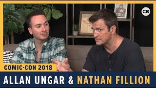 Download Allan Ungar and Nathan Fillion - SDCC 2018 Exclusive Interview Video