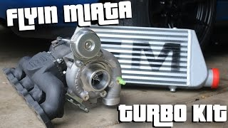 Download FLYIN MIATA TURBO KIT UNBOXING!! Video