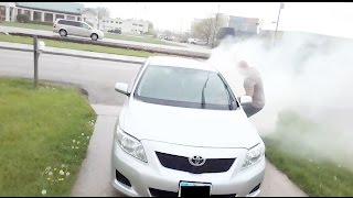 Download DELIVERY DRIVER SMOKE BOMB!! - HOW TO PRANKS Video