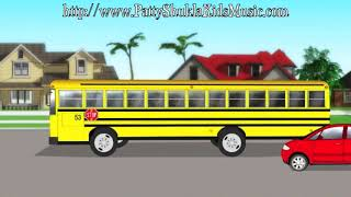 Download School Bus Kids Song | Nursery rhymes | Children's songs by Patty Shukla Video