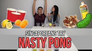 Download Singaporeans Try: Nasty Pong   EP 48 Video