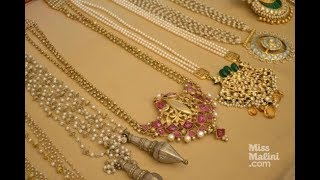 Download South sea pearl Gold necklace latest designs Video