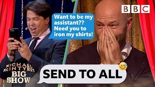 Download Send To All with Alan Shearer | Michael McIntyre's Big Show - BBC Video