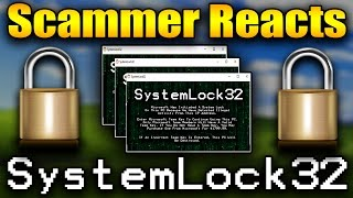 Download Scammer Reacts To Wirus.SystemLock32.EXE Malware   Tech Support Scammer Trolling/Baiting Video