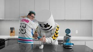 Download Cooking with Marshmello: How to Make Lemonade Slushies (Feat. Slushii) Video
