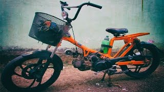 Download Motor Tiger Disulap Jadi Sepeda BMX Bermesin Video