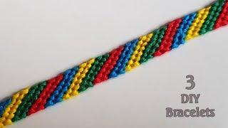 Download 3 DIY Bracelet making Ideas || Easy Bracelet projects Video