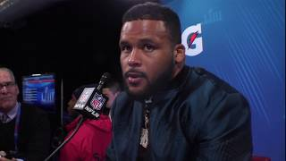 Download Aaron Donald ″I Feel Like I Let My Team Down″ | Super Bowl LIII Press Conference Video