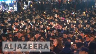 Download Latest huge protest held against South Korea's Park Video