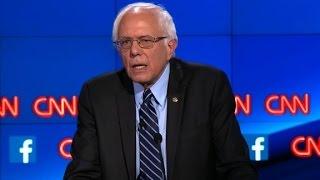 Download (Democratic Debate) Bernie Sanders explains Democratic Socialism Video