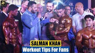 Download Salman Khan's Gym Bodybuilding Workout Tips For Fans Video