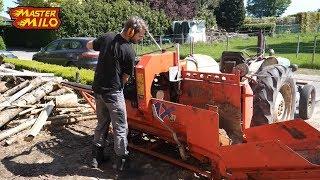 Download Woodsplitting with HakkiPilke & Fordson - Mastermilo Vlog Video